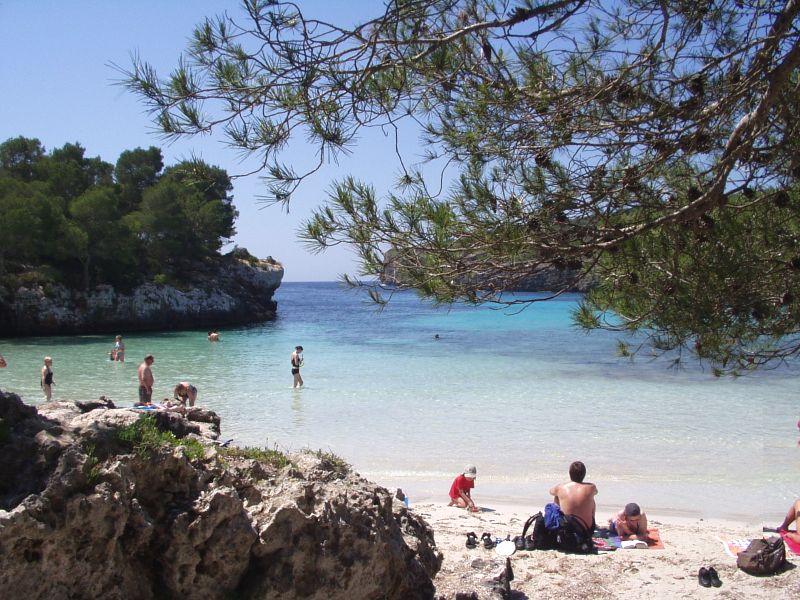 playas de menorca Cala en Turqueta
