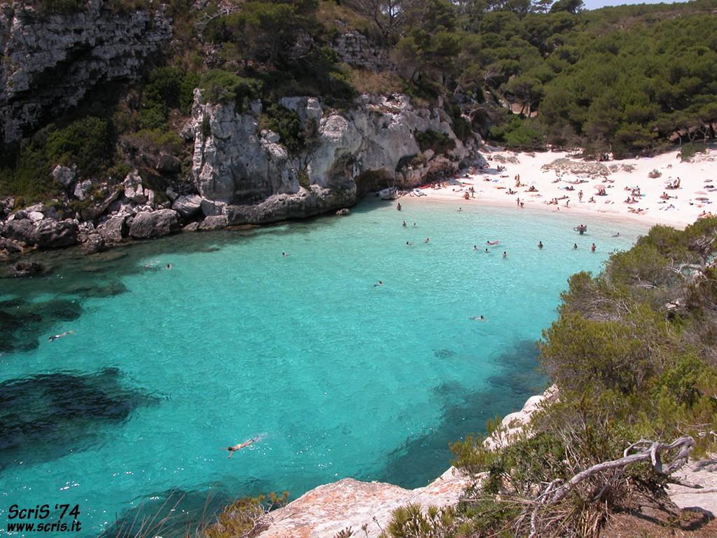 playas de menorca macarella y macarelleta