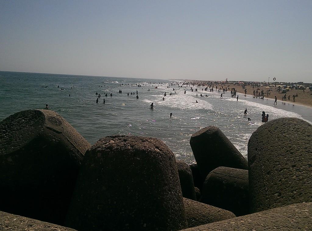 Playa en la Isla de Tavira